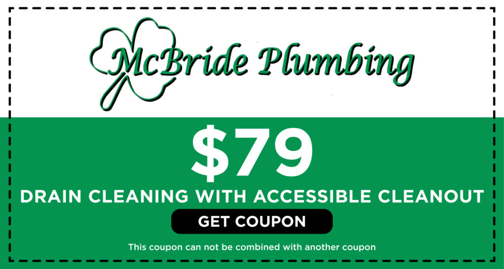 McBride Drain Cleaning Coupon