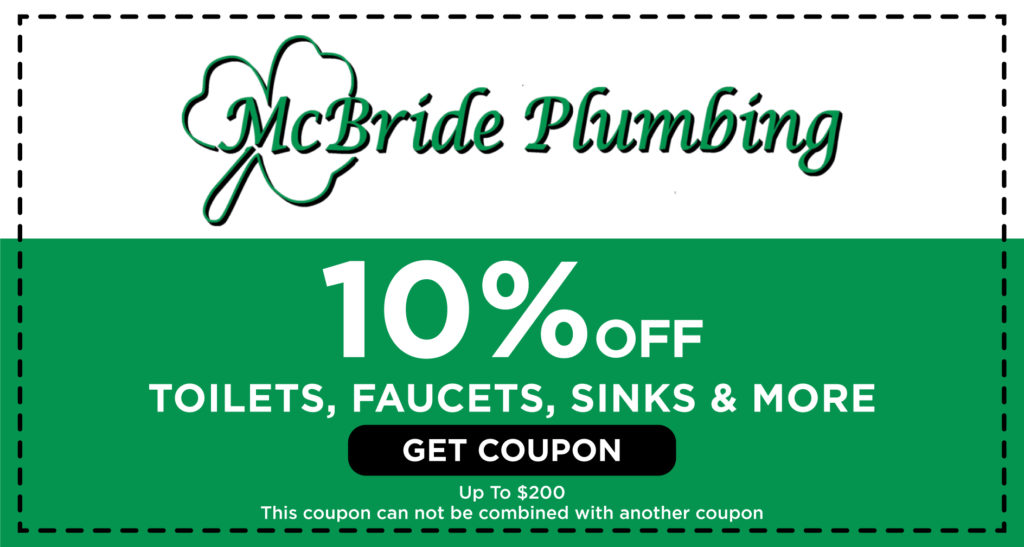 McBride Toilets, Faucets, Sinks Coupon