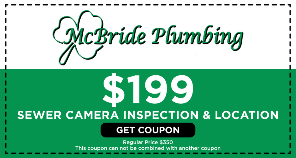 McBride Sewer Camera Inspection Coupon