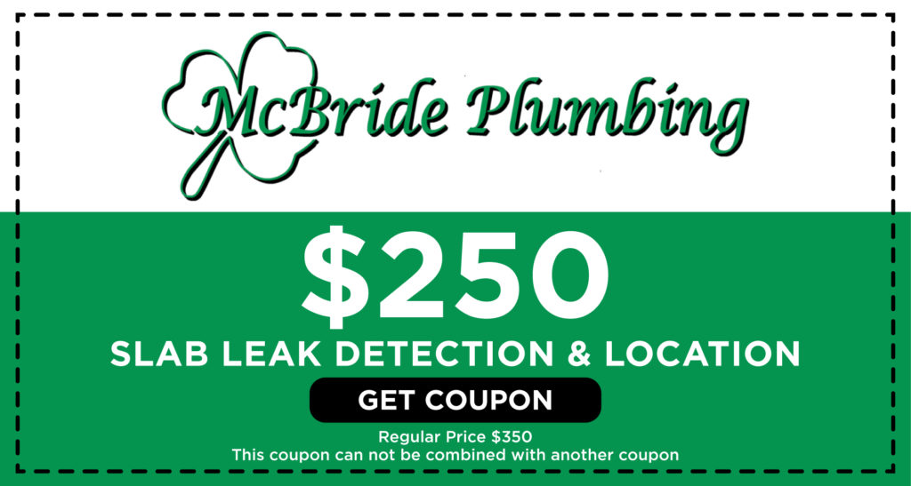 McBride Slab Leak Detection Coupon